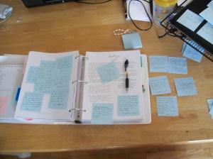 Write BIG, write little, just write!