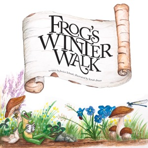 This is the cover from my first picture book. If all goes as planned, Frog will have many more adventures this year!