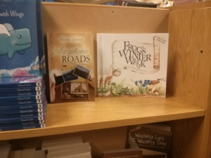 Two books at Schuler's Book Store in Michigan...dreams do come true!