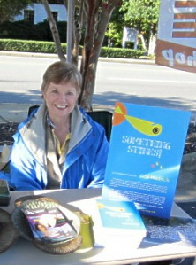 Gail at a Va Book Sale